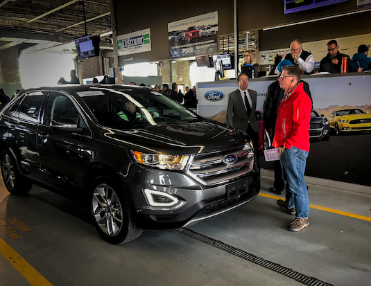 Manheim, Ford, Offer Front Line Ready Vehicles - CANADA